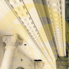 ابزار پیش ساخته گچبری هتل اسپیناس