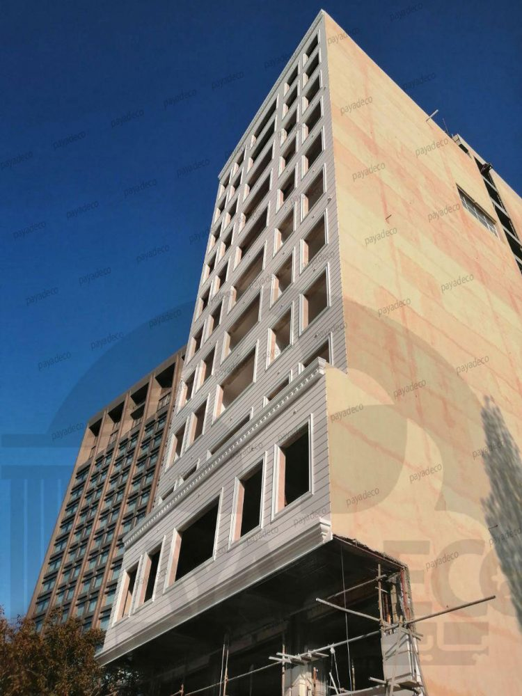 نمای فوق سبک هتل دیاکو در ارومیه