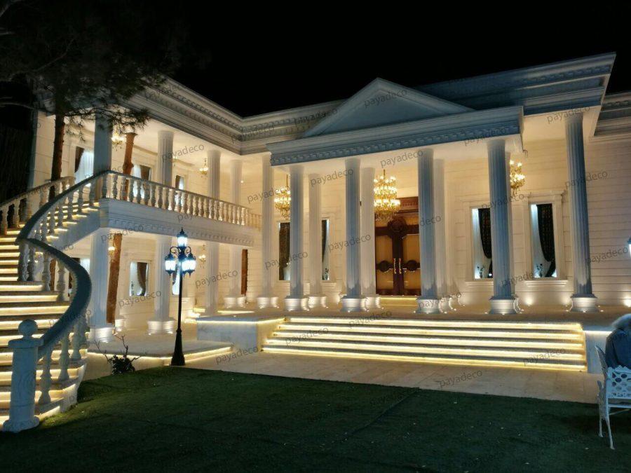 نمای رومی پیش ساخته باغ تالاردر تهران