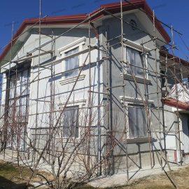 نمای سبک ساختمان ویلایی در ارومیه پایا دکو