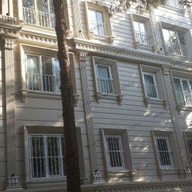 نمای سبک ساختمان در کرج پایا دکو