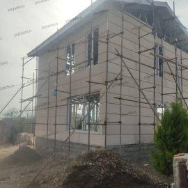 نمای سازه LSF در صومعه سرا پایادکو